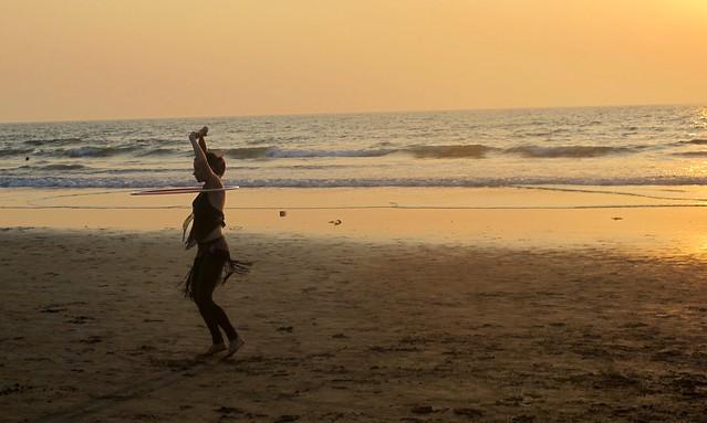 India - Arambol hula hoop