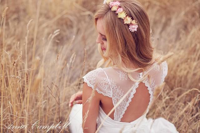 vestidos novia romanticos