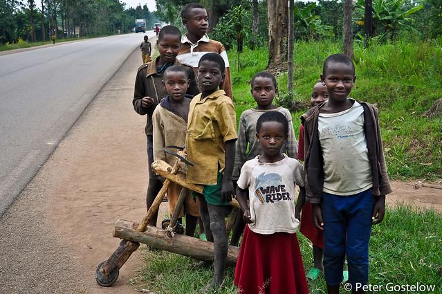 Roadside spectators