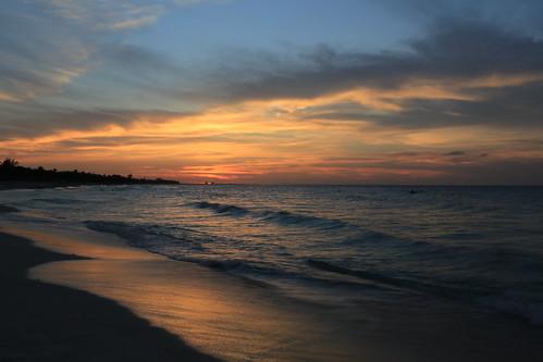 sunset beach canon cuba 5d varadero