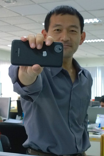 Micromax Canvas A1 and I!