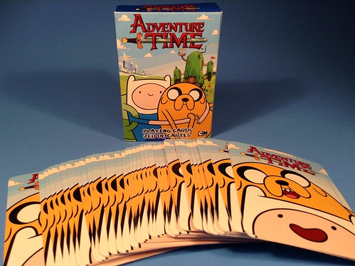 Adventure Time Playing Cards Box & Back