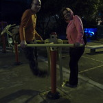 Mi, 28.01.15 - 00:33 - Andy mit Maritza am trainieren ;)