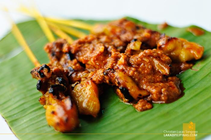 Chicken Satay at Chinatown Kuala Lumpur