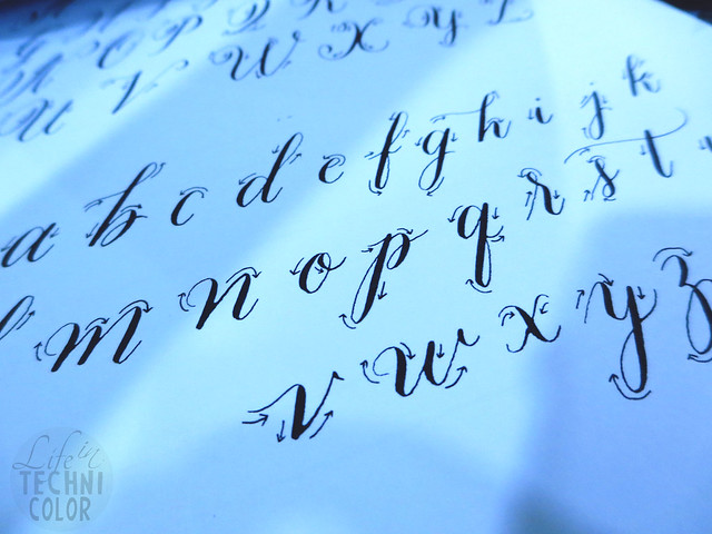 Calligraphy x Lettering