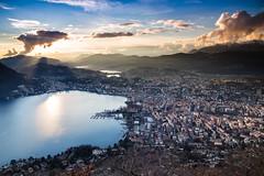 Tramonto Sul Monte Bre - Lugano