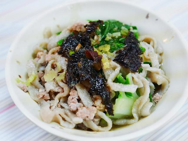台南 中西區–麵非麵,少見的特色小吃–夏家手工魚麵