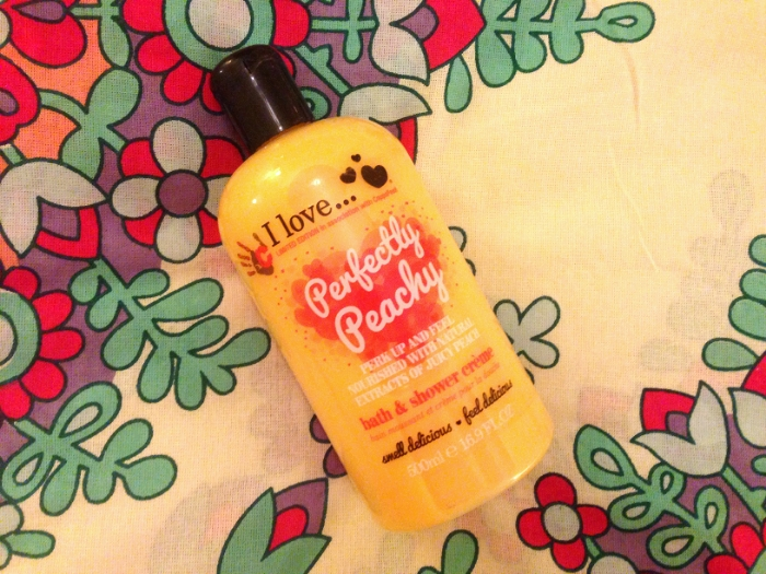 I Love Perfectly Peachy Bath and Shower Creme