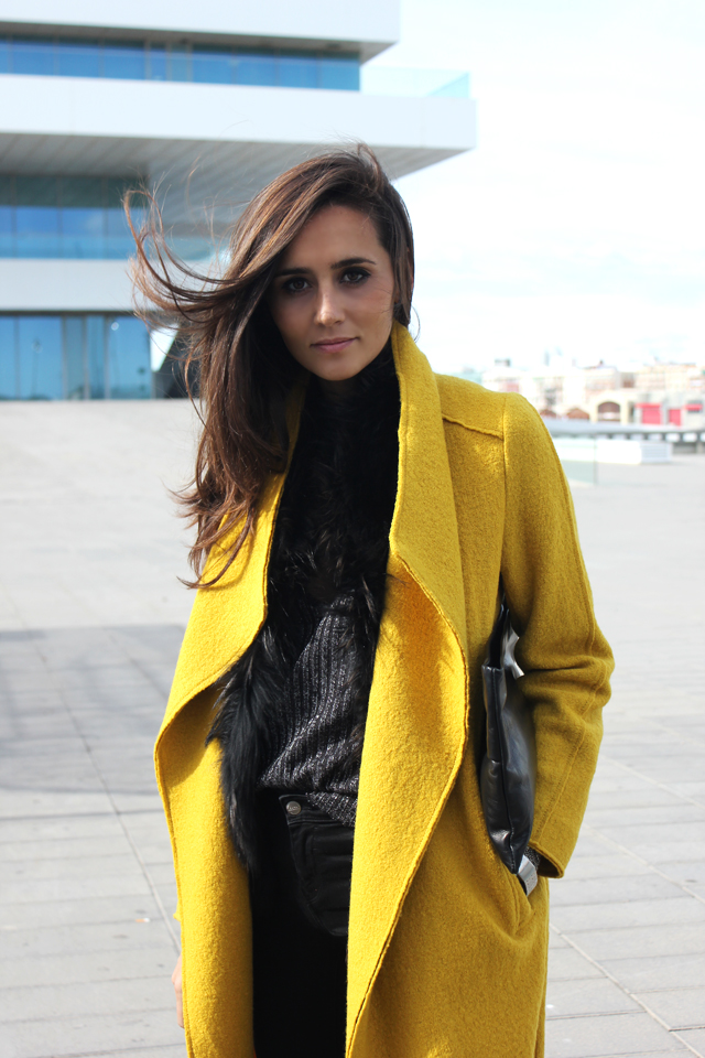 yellow coat fashion shoes coohuco 10