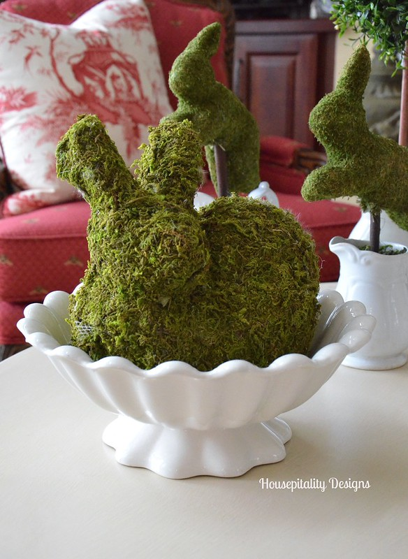 Moss covered bunny-Housepitality Designs