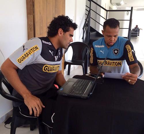 Bill e Nutricionista Rodrigo Vilhena