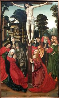 Crucifixión. Atr. Pere Terrencs. Fines del XV.
