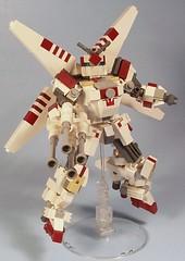 X-Wing Gundam (Guns Blazing)