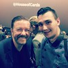 Still can't believe I also met the legendary funny Ricky Gervais last night at the House of Cards premiere! Such a cool guy ^,^ #london #comedylegend