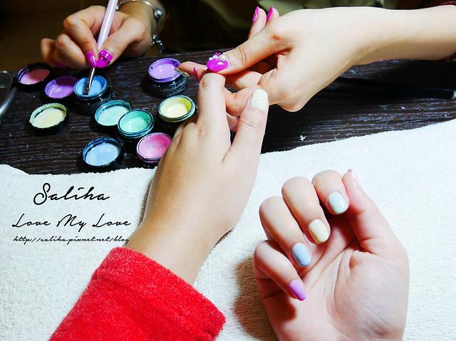 馬卡龍光療指甲 (4)