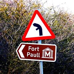 Fort Paull sign