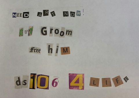 Ransom note - Groom