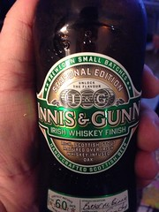 Beersperiment: Innis & Gunn Irish Whiskey Finish (Edinburgh, Scotland): @Halyma 3*, me: 4*