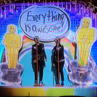 Everything is awesome!!!! #oscars.