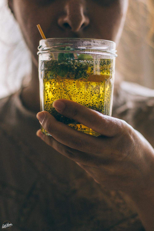 Persian Chia Seeds Drink for Nowruz | Bevanda di Semi di Chia alla Persiana per Nowruz | Lab Noon #PFBNowruz-30