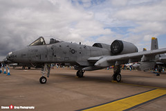 82-0654 SP - A10-0702 - USAF - Fairchild A-10A Thunderbolt II - Fairford RIAT 2007 - Steven Gray - IMG_5993