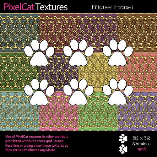 PixelCat Textures - Filigree Enamel