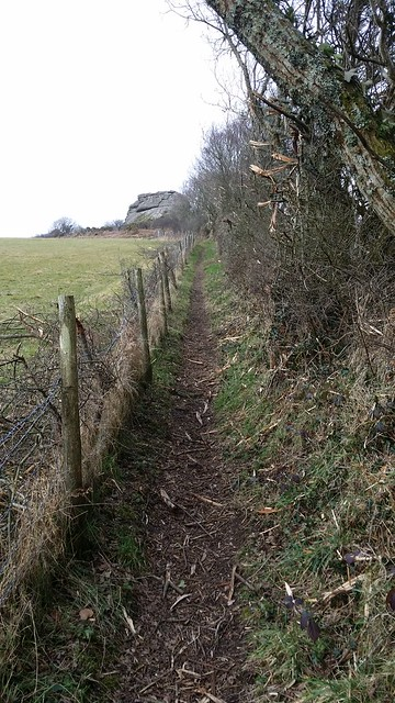Permissive footpath to Heltor Rock