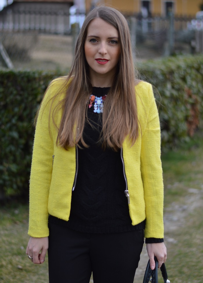 wildflower girl, blazer, sheinside, blazer, giallo, outfit (19)