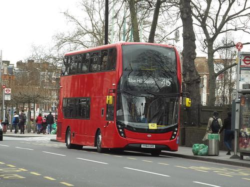 Abellio London 2400, YY64GXG in Brixton
