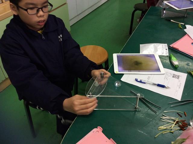 學生用iPad觀察花和果實07