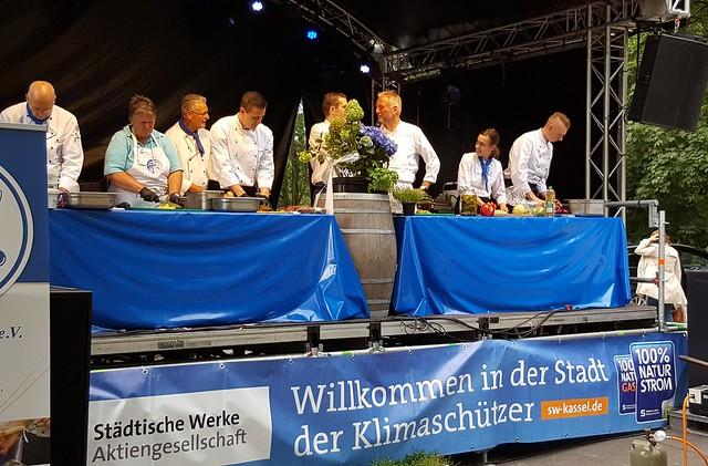 Showcooking mit den Städtischen Werken und dem Kochclub - 1.8.2016