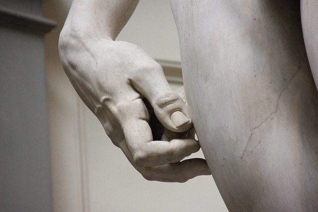 Hand of David, Galleria dell'Accademia, Florence, Italy