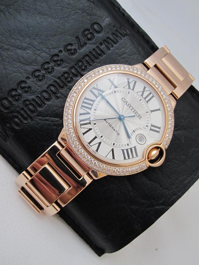 Bán đồng hồ Cartier Caliber – Vàng hồng 18k – Automatic – Size 42mm