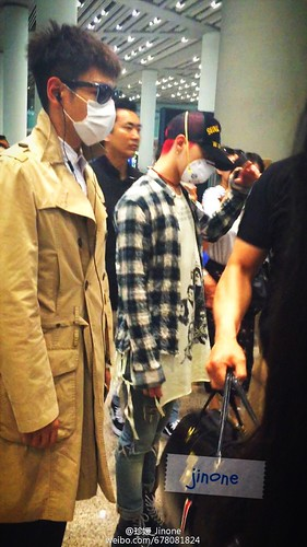 Big Bang - Beijing Airport - 05jun2015 - 珍媛_Jinone - 01