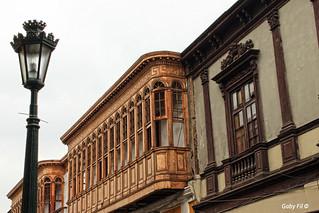Faroles y balcones
