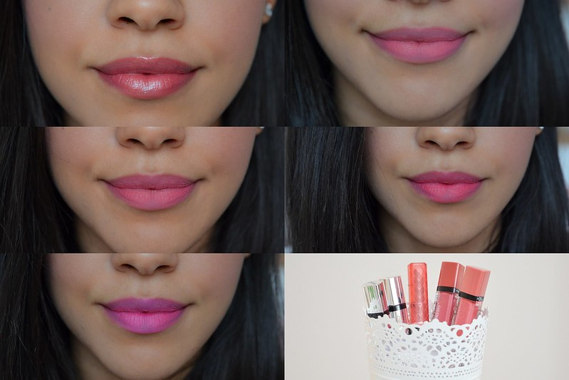 Pink and Berry Lips - Tanned Skin - Bourjois Rouge Edition Barry M Lip Stain