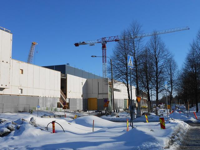 Hämeenlinnan moottoritiekate ja Goodman-kauppakeskus: Työmaatilanne 17.3.2013 - kuva 7