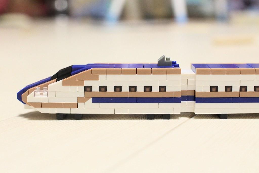 ナノブロックトレインコレクション_E7系新幹線完成2