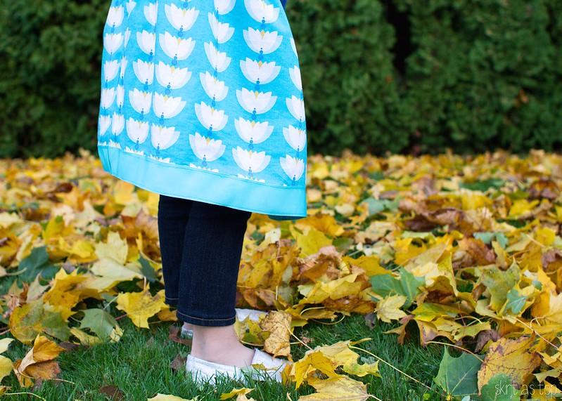 lotus pond lazy day skirt // skirt as top