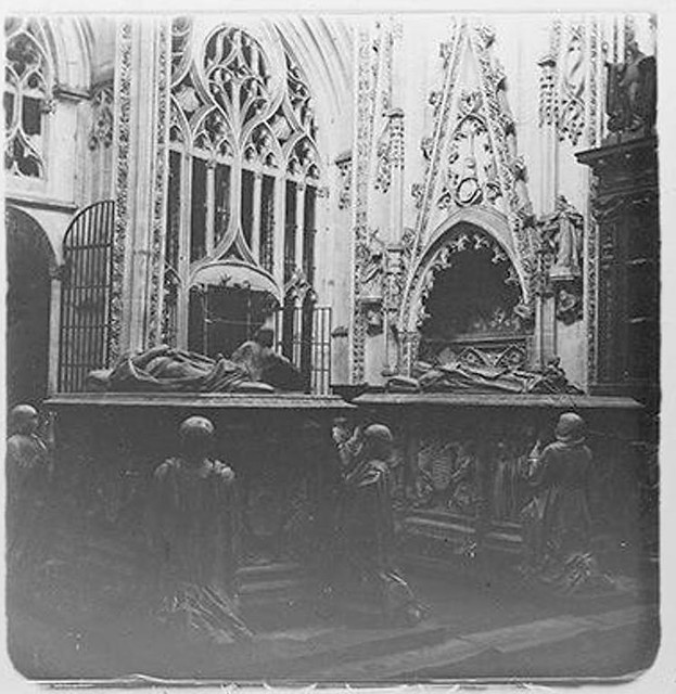 Capilla del Condestable en 1904. Fotografía de Augusto T. Arcimis en 1904 © Fototeca del IPCE, MECD. Signatura ARC-0749_P