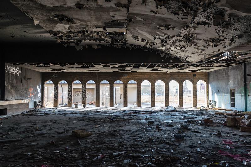 Cafeteria abandonada