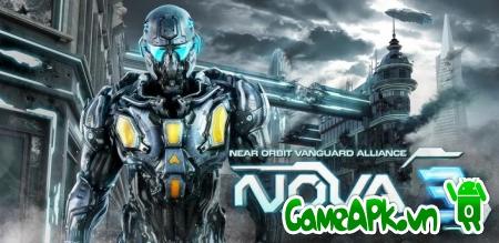 N.O.V.A. 3 – Near Orbit Vanguard Alliance v1.0.8e Cracked cho Android