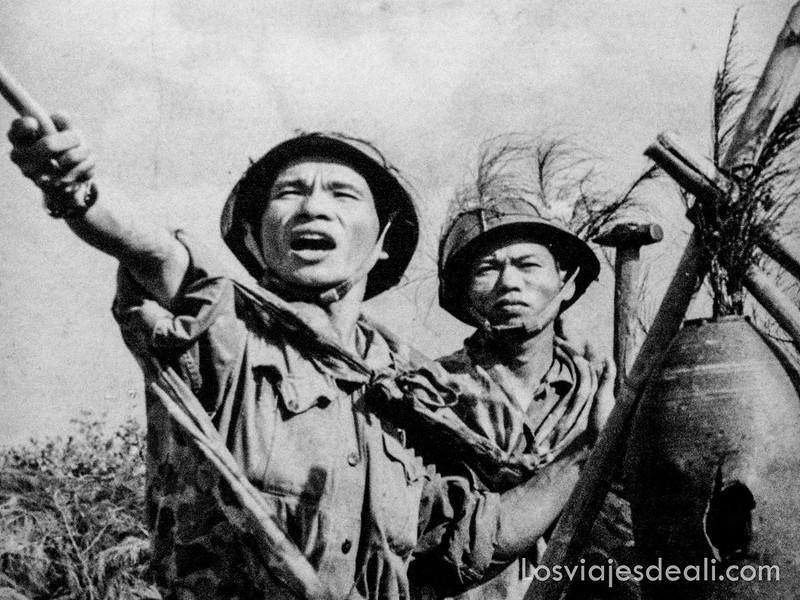 foto de la guerra de Vietnam