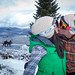 Romance is in the Air at Snow Summit Resort in Big Bear Lake, California.