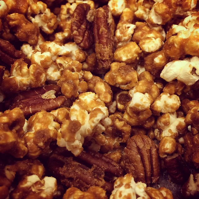 Homemade Caramel Corn!