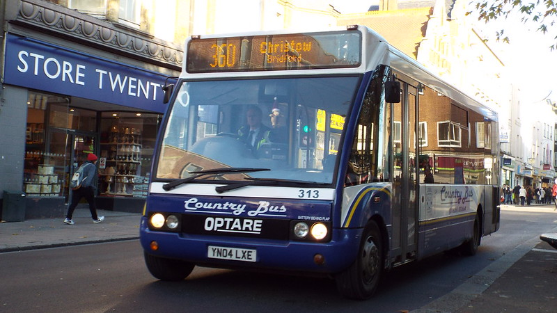 Countrybus - YN04LXE - Exeter - 3 December 2014