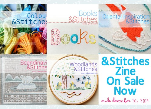 &Stitches zine sale