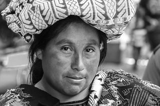 Mayan woman.