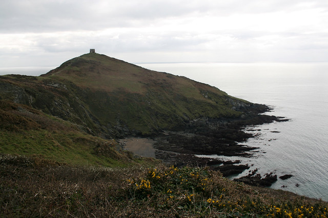 View back to Rame Head