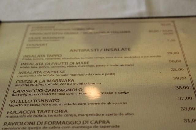tappo restaurante italiano sao paulo sp
